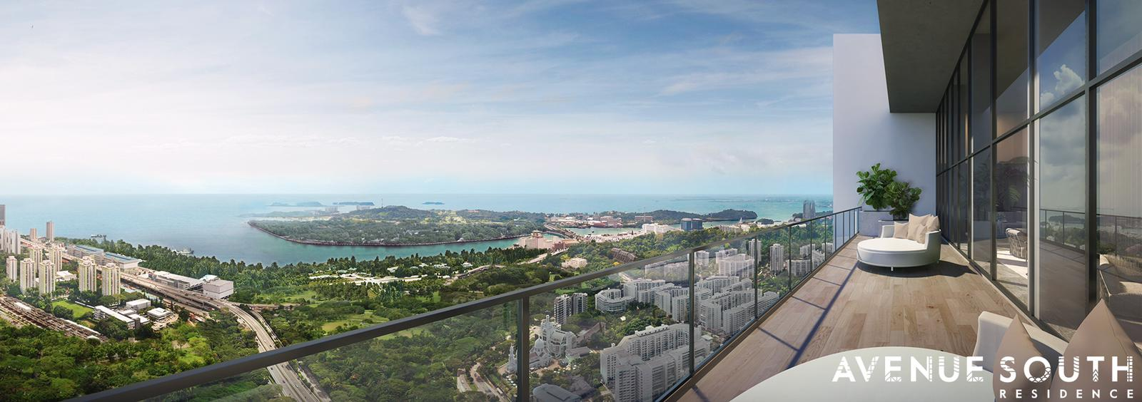avenue-south-residences-high-floor-balcony-view-singapore